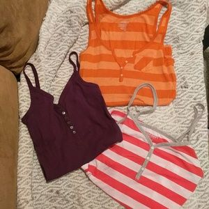 Old Navy tanks- Lot of 3